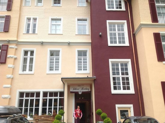 Schloss Hornberg Hotel : Front side