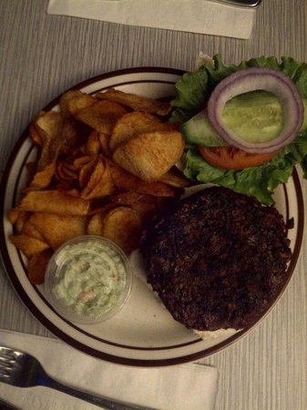 The Bent Spoon: Buffalo Burger $13.50 Tax included