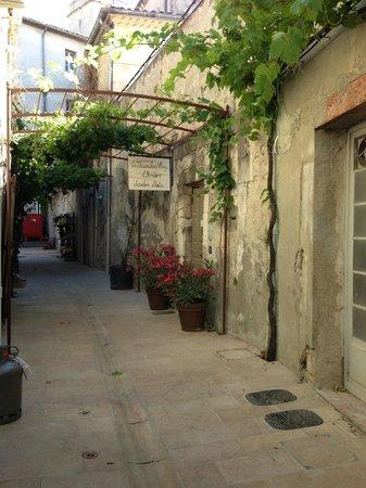 Maison Saint Remy d'Isidore: Street entrance to La Maison d'Isidore