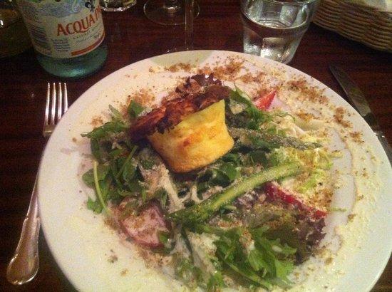 Ambrosia : Soufflé di formaggio di capra e verdure