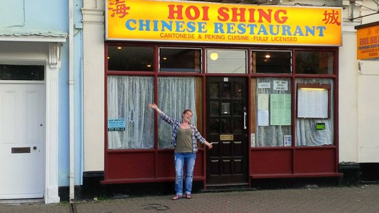 Hoi Shing: just your average chinese on the outside!