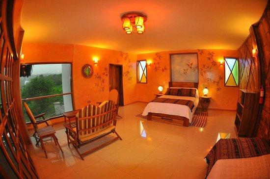 Azuluna Ecolodge: Room/suite