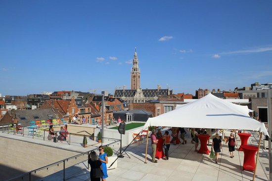 M - Museum Leuven : Roof terrace