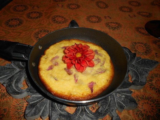 Agrichic La Guardola: cena con fiori