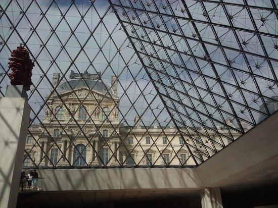 Magnifique tableau du sacre de napol on picture of musee for Interieur pyramide