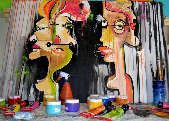 Atelier Marisa Bernotti: Trabajando