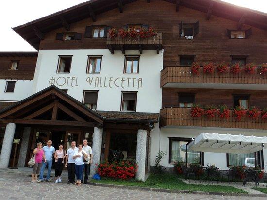 Hotel Vallecetta: hall albergo vallecetta