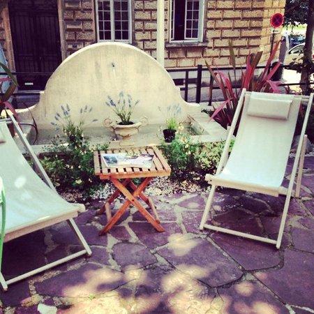 La Maison du Lierre : Jardin pittoresque
