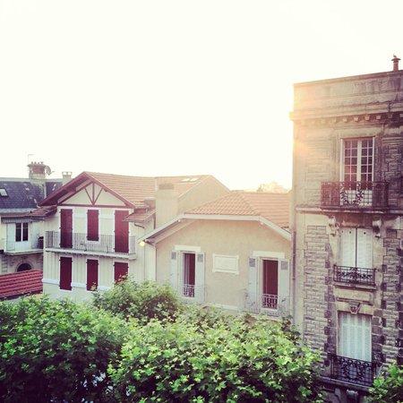 La Maison du Lierre : Biarritz au coucher du soleil