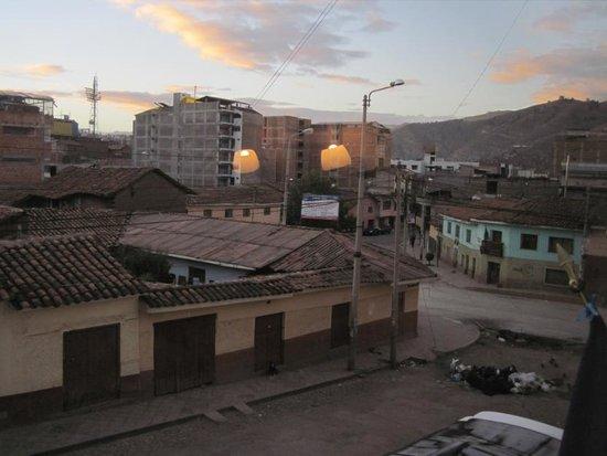 Hotel Mabey Cusco: 部屋からの眺め