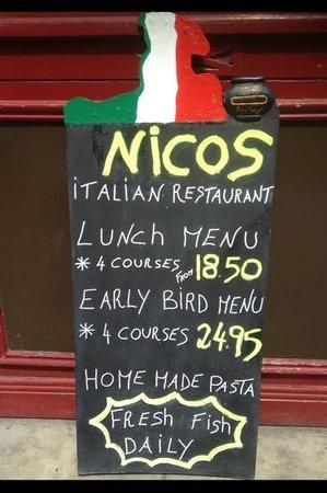Nico's: deal