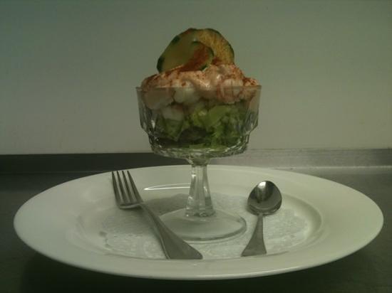 Nico's: prawns cocktail
