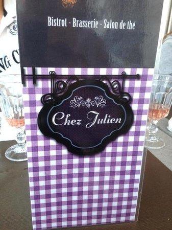 Chez Julien : Carte / Menu