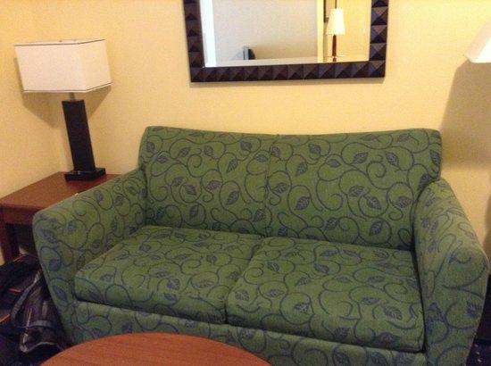 SpringHill Suites Atlanta Alpharetta: tv sitting area