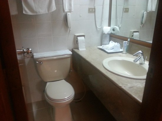 Executive Hotel Manila (formerly The Executive Plaza Hotel): view of toilet