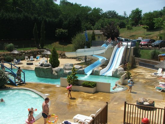 Resto et piscine couverte chauff picture of camping l for Camping dordogne piscine couverte