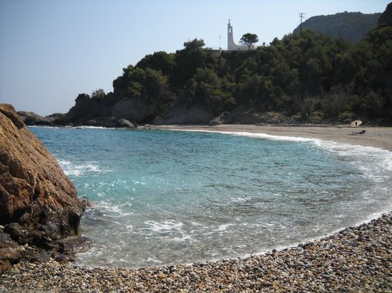 Anema by the Sea Guesthouse: La spiaggia nord-ovest di Samos