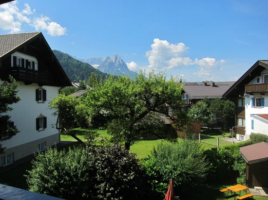 Hotel Trifthof : View from Room 8