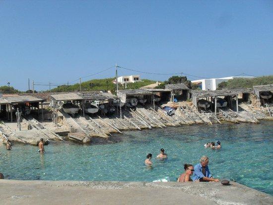 Arcos De Formentera: playa es calò
