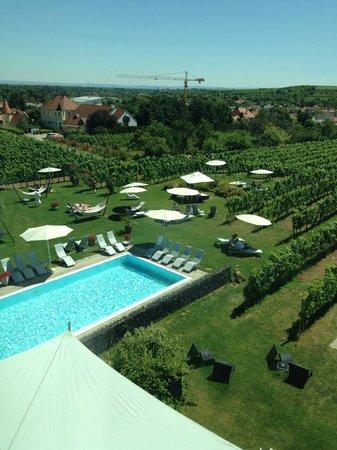 Loisium Wine & Spa Resort Langenlois: (Ein) Blick vom Zimmer aus