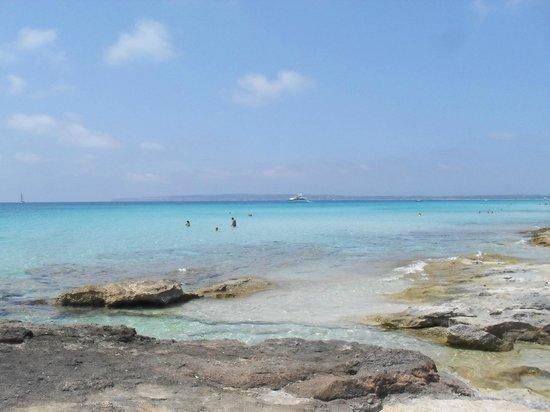 Arcos De Formentera: spiaggia calò des mort