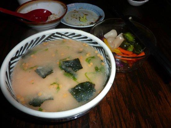 Blue Ocean Japanese Restaurant: 明太子茶漬け
