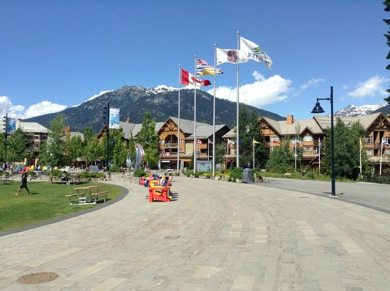 Whistler Blackcomb: the Olympic park