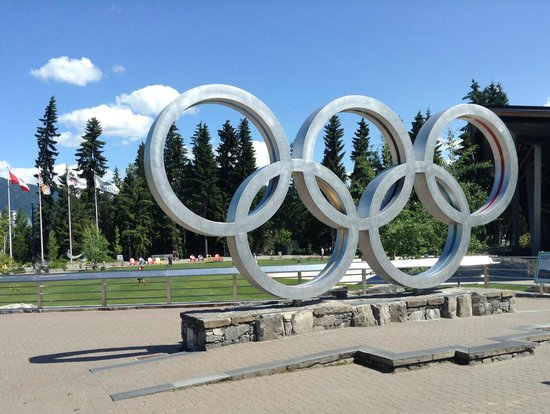 Whistler Blackcomb: the Olympic Rings