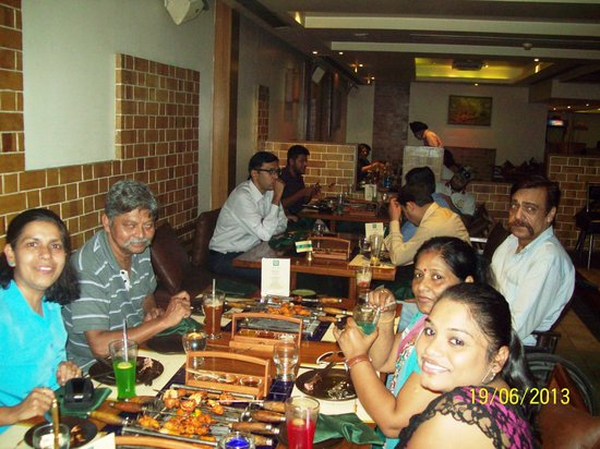 Barbeque Nation: Very comfortable