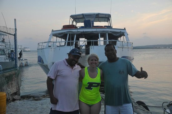 San Andres Diving & Fishing : Jaime, me and Ronald
