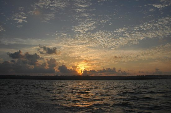 San Andres Diving & Fishing : The sunset!