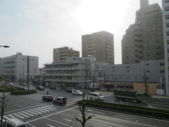 Citadines Karasuma-Gojo Kyoto: view from the room, citadines kyoto