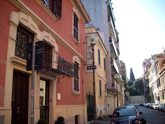 La Locanda del Manzoni: the hotel's appearance