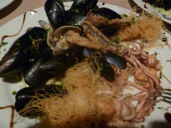 Ortigia Si Mangia : l'antipasto misto.....