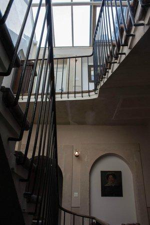 Le Clair de la Plume: Staircase
