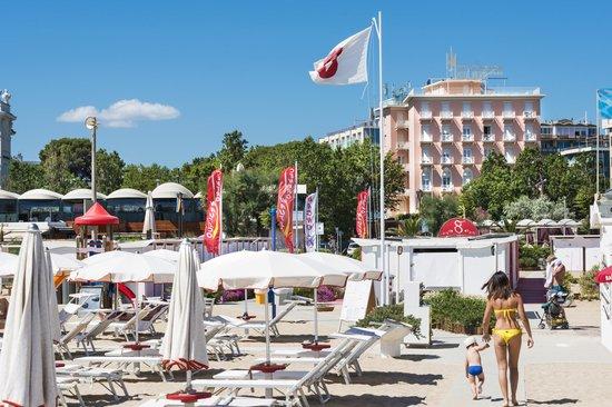 Hotel Milton Rimini, BW Premier Collection: Hotel Milton beach