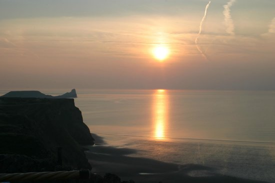 Rhossili Bay: Rhosilli Sunset