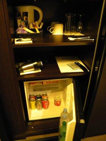 Radisson Blu Hotel, Paris-Boulogne : Mini bar