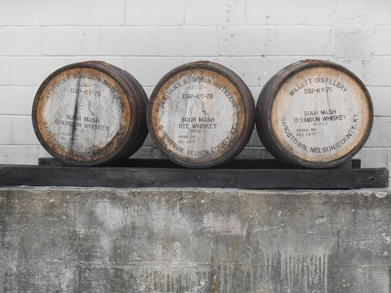 Mint Julep Tours: Willett barrels