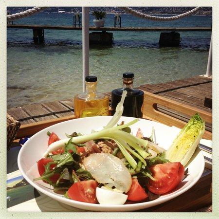 Le Provencal Beach: Salade Niçoise from the Provencal Beach