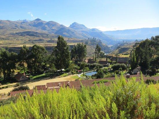 Las Casitas del Colca: view over lodges