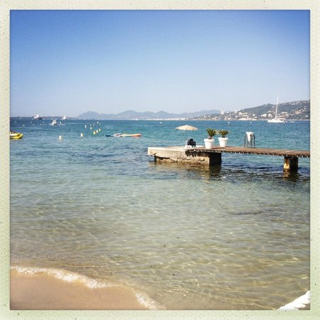Le Provencal Beach : View from the Provencal Beach
