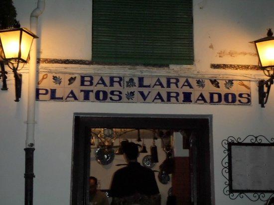 Bar Lara: The restaurant