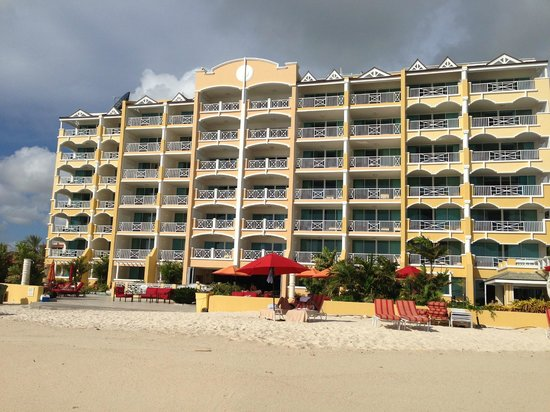 Ocean Two Resort & Residences : View of the Resort from the beach