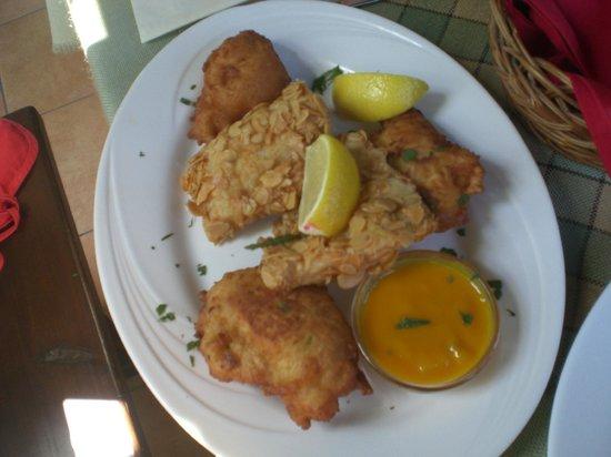 Bajai Halaszcsarda: Fisch mit Mandeln