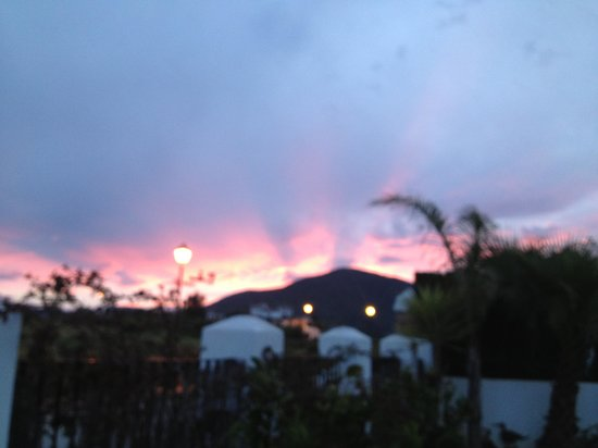 La Cala Golf : Sunset at La Cala Resort