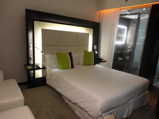 Novotel Buenos Aires: o quarto que fiquei hospedada