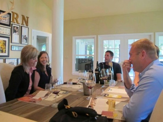 Napa Valley Wine Excursions Tours: Hill Family Estate