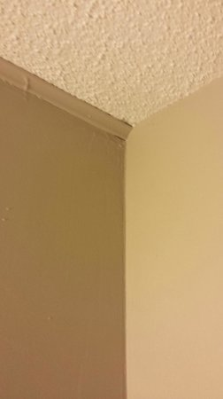 Norfolk Country Inn & Suites: Many gaps for things to hide