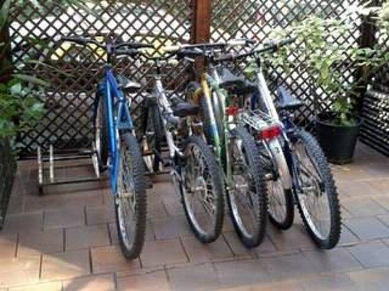 Hotel Saint Tropez: bici a disposizione